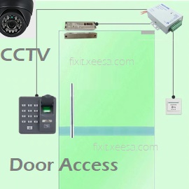 CCTV Door Access Time Attendance Singapore